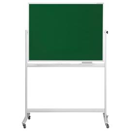 Mobile Kreide Stativ-Drehtafel SP 150x100cm grün beidseitig lackiert Magnetoplan 1242395 Produktbild