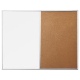 Kombiboard Design SP 120x90cm Hälfte weiß + Hälfte Kork Magnetoplan 1240470 Produktbild