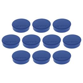 Haftmagnete Discofix Hobby ø 24 mm 300g Haftkraft dunkelblau Magnetoplan 1664514 (PACK=10 STÜCK) Produktbild