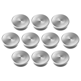 Haftmagnete Discofix forte ø 25 mm 12000g Haftkraft silber Magnetoplan 16630 (PACK=10 STÜCK) Produktbild