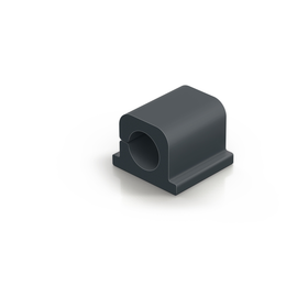 Kabelclips CAVOLINE Pro 1 20x21x16mm selbstklebend graphit Durable 5042-37 (PACK=6 STÜCK) Produktbild