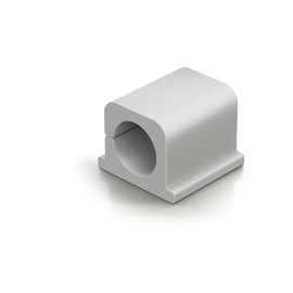 Kabelclips CAVOLINE Pro 2 25x25x20mm selbstklebend grau Durable 5043-10 (PACK=4 STÜCK) Produktbild