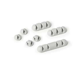 Kabelclips CAVOLINE CLIP Mix selbstklebend grau Durable 5041-10 (PACK=7 STÜCK) Produktbild