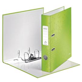 Ordner 180° WOW A4 50mm grün metallic PP Leitz 1006-00-54 Produktbild
