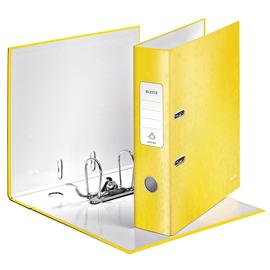 Ordner 180° WOW A4 80mm gelb metallic Kunststoff Leitz 1005-00-16 Produktbild
