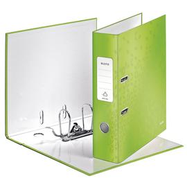 Ordner 180° WOW A4 80mm grün metallic Kunststoff Leitz 1005-00-54 Produktbild