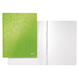 Schnellhefter WOW A4 grün PP-laminierter Karton Leitz 3001-00-54 Produktbild