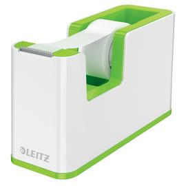 Tischabroller WOW Duo Colour befüllbar bis 19mm x 33m weiß/grün metallic Leitz 5364-10-54 Produktbild