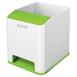 Stiftehalter WOW Duo Colour weiß/grün metallic Kunststoff Leitz 5363-10-54 Produktbild