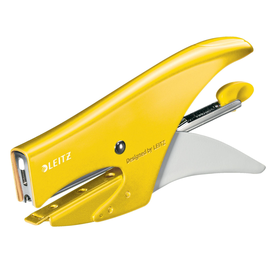 Heftzange WOW bis 15Blatt Hinterlademechanik gelb metallic Leitz 5531-20-16 -Blisterpackung- Produktbild