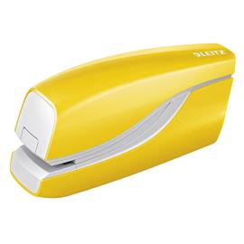 Elektroheftgerät NeXXt 5566 WOW bis 10Blatt für E1 gelb metallic Leitz 5566-10-16 Produktbild