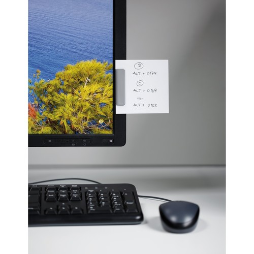 Magnetclip Durafix 60x17mm metallic silber selbstklebend Durable 4705-23 (PACK=5 STÜCK) Produktbild Additional View 6 L