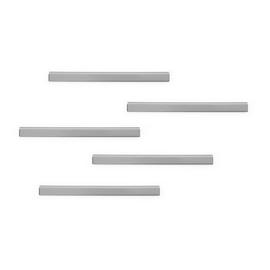 Magnetleiste Durafix Rail selbstklebend 210x17mm metallic silber Durable 4706-23 (PACK=5 STÜCK) Produktbild