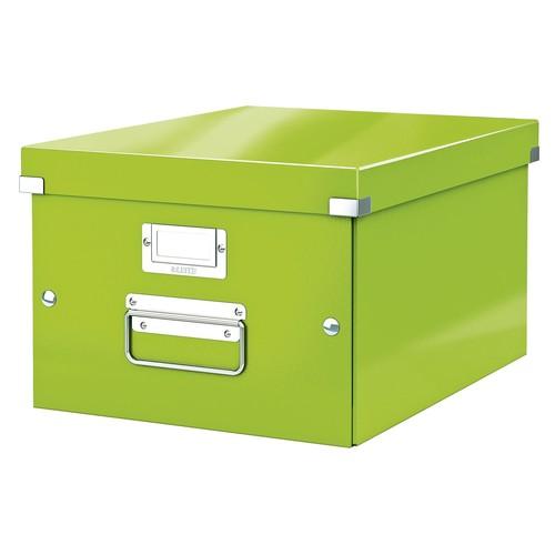 Archivbox WOW Click & Store 281x200x370mm grün Leitz 6044-00-54 Produktbild Front View L
