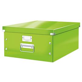 Archivbox WOW Click & Store für A3 369x200x482mm metallic grün Leitz 6045-00-54 Produktbild
