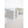 Schubladenbox Varicolor Mix 5 Schübe 292x356x280mm grau Durable 7625-27 Produktbild Additional View 3 S