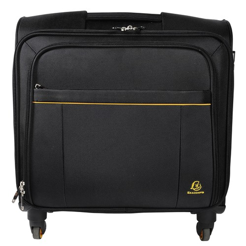 "Notebooktrolley mit Laptopfach 15,6"" 42x23x48cm schwarz 18834E Exacompta Produktbild Additional View 1 L"