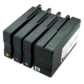Tintenpatrone (953XL) Multipack für Officejet Pro 8210/8700 80ml schwarz/ je 27ml cyan/magenta/yellow BestStandard Produktbild
