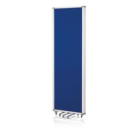 Präsentationswand mobil faltbar 181x180cm blau Filz doppelseitig Magnetoplan 1105303 Produktbild
