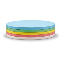 Moderationskarten Oval 190x110mm farbig sortiert selbstklebend Magnetoplan 111151990 (PACK=250 STÜCK) Produktbild