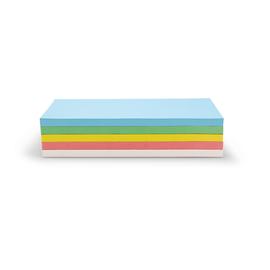 Moderationskarten Rechteckig 200x100mm farbig sortiert selbstklebend Magnetoplan 111151590 (PACK=250 STÜCK) Produktbild
