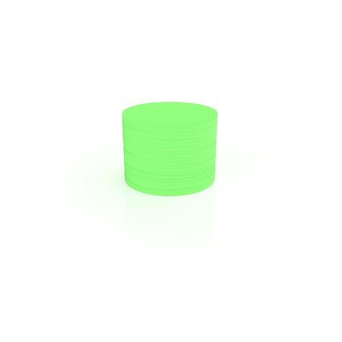 Moderationskarten Kreis klein ø 100mm grün Magnetoplan 111151605 (PACK=500 STÜCK) Produktbild Front View L