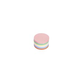 Moderationskarten Kreis mittel ø 140mm farbig sortiert Magnetoplan 111151710 (PACK=500 STÜCK) Produktbild