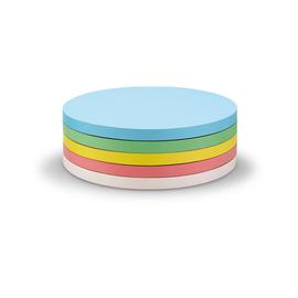 Moderationskarten Kreis mittel ø 140mm farbig sortiert selbstklebend Magnetoplan 111151790 (PACK=250 STÜCK) Produktbild