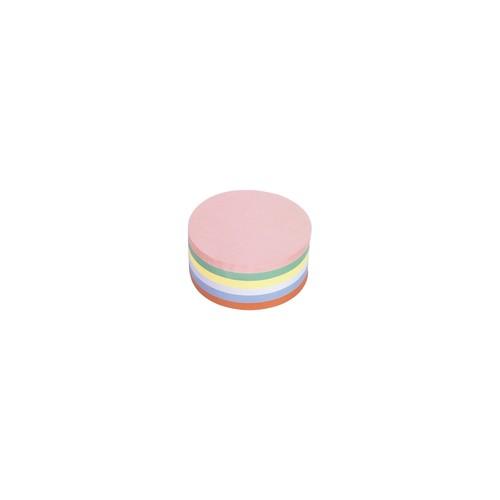 Moderationskarten Kreis groß ø 190mm farbig sortiert Magnetoplan 111151810 (PACK=500 STÜCK) Produktbild Front View L