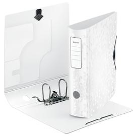 Ordner 180° Active WOW A4 80mm weiß metallic PP Leitz 1106-00-01 Produktbild