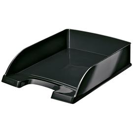 Briefkorb WOW für A4 242x63x340mm schwarz metallic Kunststoff Leitz 5226-30-95 Produktbild