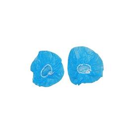 Dehnbare Kopfhörer-Abdeckungen 11cm Größe M Einweg-Ohrmuscheln blau (PACK=100 PAARE) Produktbild