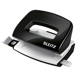 Locher Mini NeXXt 5060 WOW bis 10Blatt schwarz metallic Metall Leitz 5060-10-95 Produktbild