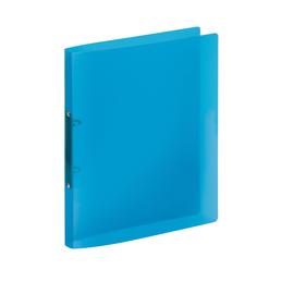 Ringbuch PROPYGLASS® A4 2Ringe 20mm blau Veloflex V020246 Produktbild