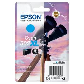Tintenpatrone 502XL für Epson Expression Home XP-5100 6,4ml cyan Epson T02W24020 Produktbild