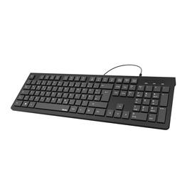 Tastatur Basic Keyboard KC200 USB schwarz Hama 00182681 Produktbild