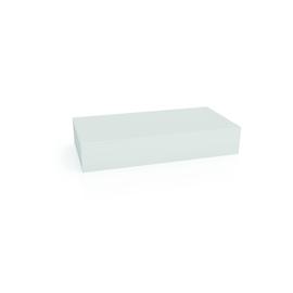 Moderationskarten Rechteckig 200x100mm weiß Magnetoplan 111151500 (PACK=500 STÜCK) Produktbild