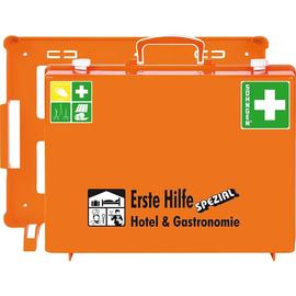 Erste-Hilfe-Koffer Spezial MT'-CD Hotel& Gastronomie 40x30x15cm orange gefüllt nach DIN 13157 Söhngen 0360103 Produktbild