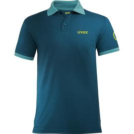 Arbeits-Poloshirt K26 M petrol für Herren UVEX 8945810 Produktbild