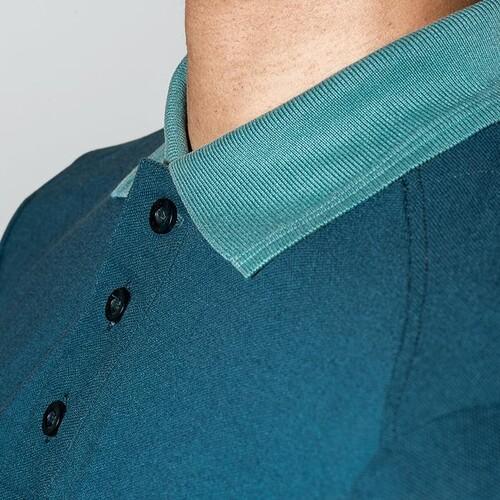 Arbeits-Poloshirt K26 XL petrol für Herren UVEX 8945812 Produktbild Additional View 3 L