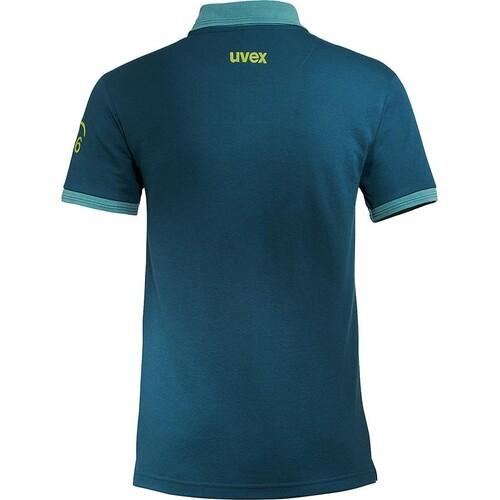 Arbeits-Poloshirt K26 XL petrol für Herren UVEX 8945812 Produktbild Additional View 1 L