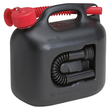 Kraftstoffkanister 5l schwarz hünersdorff 797211 Produktbild