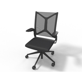 Drehstuhl Girsberger Camiro Style schwarz A015B02.71B.1502B/1B-100.000 Produktbild