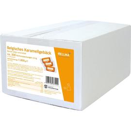 Cafe-Gebäck Karamell einzeln verpackt Hellma (PACK=300x 6 GRAMM) Produktbild