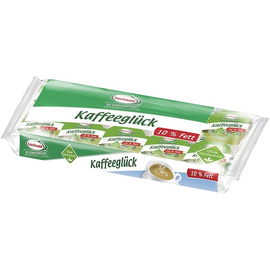 Kaffeesahne-Näpfchen 10% Fett (PACK= 10 x 10 GRAMM) Produktbild