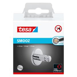 Handtuchhaken SMOOZ chrom rundes Design 3,7x3,7x3,7cm Tesa 40318-00000 Produktbild