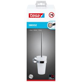 WC-Bürstengarnitur SMOOZ chrom 9,5x13,5x39,5cm Tesa 40316-00000 Produktbild