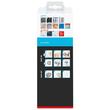 Seifenspender SMOOZ verchromt / satinierter Glasbecher 7x12,6x17cm Tesa 40323-00000 Produktbild Additional View 3 S