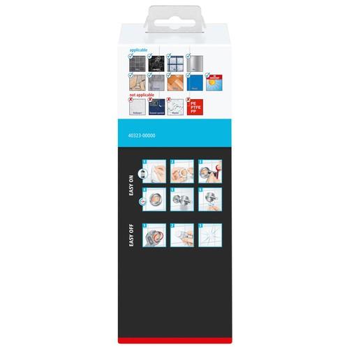 Seifenspender SMOOZ verchromt / satinierter Glasbecher 7x12,6x17cm Tesa 40323-00000 Produktbild Additional View 3 L