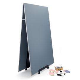 Meet up Bundle 2x Pinboard MU011 mobil 120x180cm + 1x Stand Meet up MU050 + 1x Toolkit MU251 gratis Sigel MUB02 Produktbild